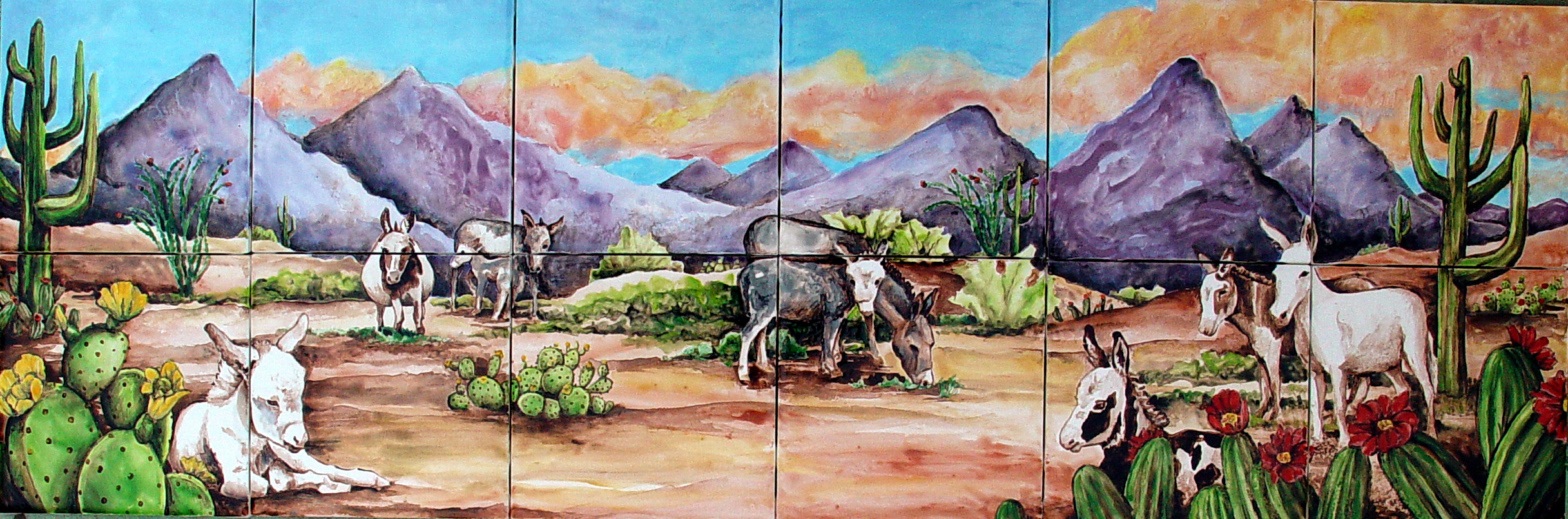 Animal Ceramic Tile Murals 2